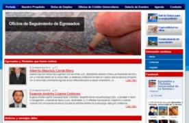 Implementar portal web Ventanilla única para la relación con egresados
